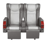 2+1 Luxury VIP bus coach business reclining seat with monitor available