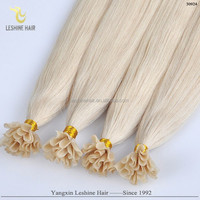 Beauty Private Label Name Brand Quality Product Factory Price human hair utips extensions russian