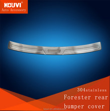 2013 popular bumper moulding for Forester stainless steel