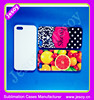 JESOY Plastic 3D Phone Cover For Iphone 6, Blank Sublimation Phone Cover For Iphone 6