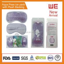 Hot Pack Magic Eye Gel Mask with plush backing