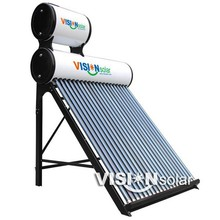 Excellent quality water solar heater with Painted color steel sheel for daily life
