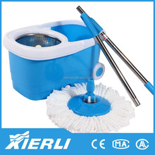 360 Degree Spin Microfiber Cleaning Cheap Rotating Magic Mop Plastic Bucket Wringer With Wheels