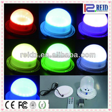 New colorful changing led light furniture for cube ball table chair