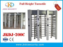 Deluxe and rustproof 3 lane security full height turnstile