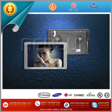 Networking advertising bus lcd ad player
