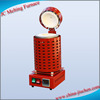 Electric Small Portable Gold/silver/copper Melting Furnace for Metallurgy Machinery