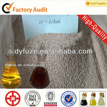 granular filter clay catalyst for oil refinery industry