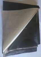 67#B RFID Fabric for Wallets Bags Phones Laptop Electrically Conductive Fabrics black color