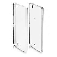 Crystal case transparent hard cover back shell bumper for WIKO Getaway mobile phone
