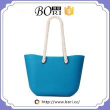 wholesaler o bag rubber bag silicone tote bag