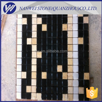 Standard size marble mosaic tiles for floor and wall covering