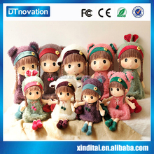 Cute voice princess toy plush dolls wholesale