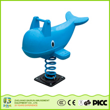 Bairun New Technology Product In China Animal Shape Playground Equipment Games Baby Plastic Rocking Horse