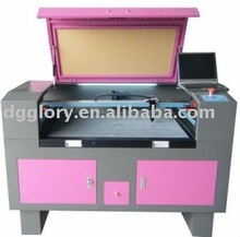 GLORYSTAR 2012 newest CO2 Laser Cutting and Engraving Machine for non-woven cloth