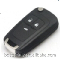 Best price 3 buttons universal car remote key for opel car key opel vectra car key