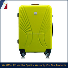 "2015 New Design 20""/24""/28'' inch 3pcs abs trolley travel suitcase Leisure luggage for India,Southeast Asia market"