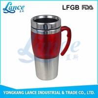 Good selling best fashion stainless steel Customized logo Coffe Mug