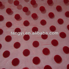 2012 fashion flock design fabric