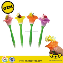 flower and Insect design pen novelty china stationery world