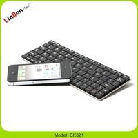 Ultra Thin Mini Wirelesss Keyboard For Samsung Galaxy Note iPhone 5 iPad 4