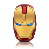 2014 hot !iron man optical mouse wireless