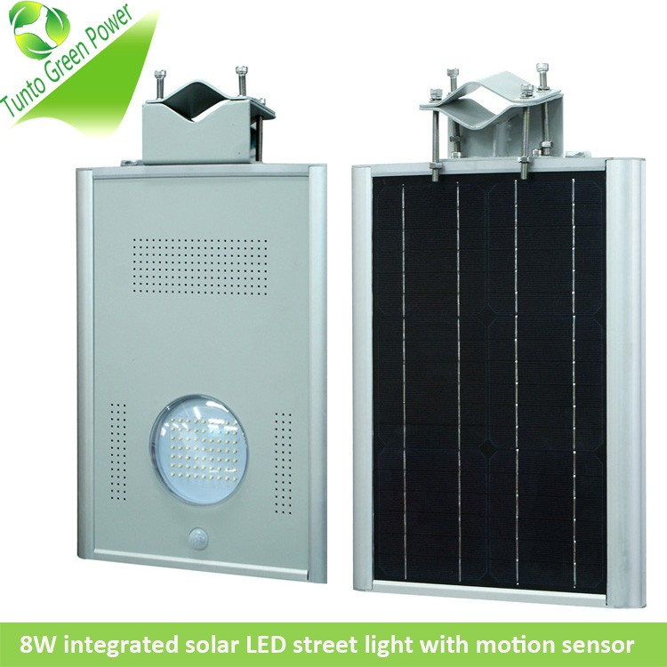integrated solar light 8w