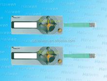 2014 new Custom keypad membrane switch with ESD shielding