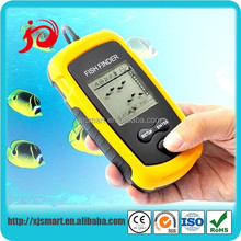 new portable visual sonar wireless fish finder with LCD display