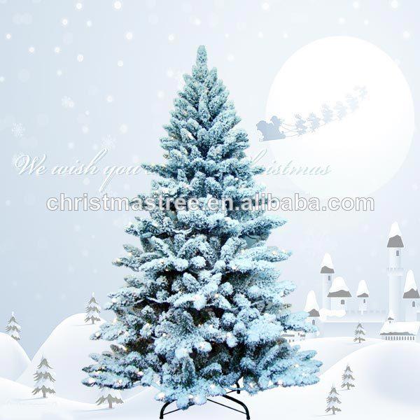 Decoraciones de navidad nieve rbol de navidad - Arbol navidad nieve ...