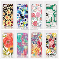 Custom Design Phone Shell Beautiful Flower Cell Phone Accessory Painting Phone Cover Case For Xiaomi 4
