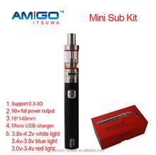 Itsuwa Mini Sub Kit hot selling e cig kit 50w full power output vape kits