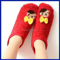 2015 New Products China made custom floor baby home socks