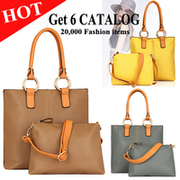 2015 large designer handbags cheap fashion handbags color collision bags handbag