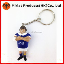 2015 Hottest!!!!Mother day gift ideas 3d hard plastic player keychains