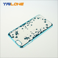 cell phone accessory pc electroplating cell phone case for apple iphone 6 cover