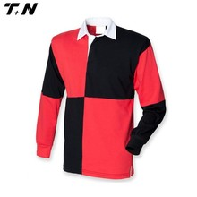 2015 hot sale long sleeve rugby jersey /2015 rugby shirt
