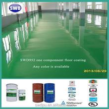 Single component polyurea industriral floor coating/paint