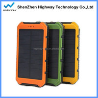 High Quality Sunpower Solar Panel 10000mah Solar Power Bank for Mobile Phone