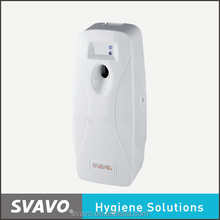 Wall mounted ABS plastic automatic air freshener dispenser with LCD for hotel , home, toliet public areas V251