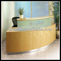 cheap hot sale hospital small reception desk