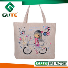 Hot Selling Printing Canvas tote Bag Stylish Cotton Shopping Bag Promotional fashion Women tote Bags