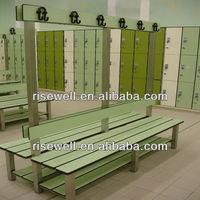compact laminates locker and bench
