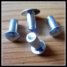 Mushroom head solid steel rivet