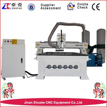 High precision 6kw HSD air cooling spindle wood carving cnc router machine