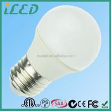Made in China Warm White 3000 Kelvin 3W 5W 7W 9W LED SMD E27 Golf Ball Bulb 220-240V /110-120V