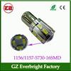 1156 1157 led auto lamp 16 smd 5730 parking light bulbs brake leds