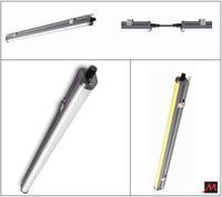 IP65 Outdoor waterproof/Non corrosive LED Batten/Parking Garage LED Lighting