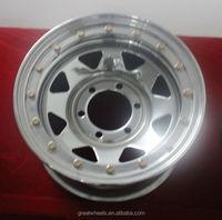 High strength american racing wheel 15x14 15x12 15x10 15x9 15x8 15x7