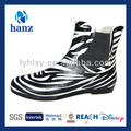 fancy 2014 zebra mulheres jardim botas de borracha